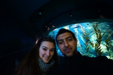 Lena and I at the Ripley's Aquarium Largest Aquarium in North America. Bar by waelben2000 under benandamen.com www.houseofbengal.com Bollywood Grill & Cafe Bollywood Grill & Shisha