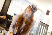 Olena smoking